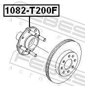 Veovõll, esisild paremal Febest 1212-CM10AT4WD, Hyundai