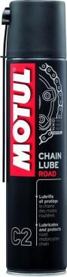 MOTUL C2 CHAIN LUBE ROAD KETIÕLI 400ML, Motul