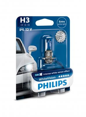 PHILIPS WHITEVISION +60% H3 12V 55W,