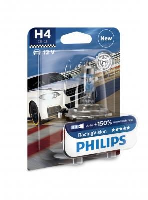 PHILIPS RACINGVISION +150% H4 12V 60/55W,