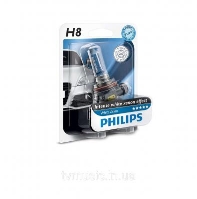 PHILIPS WHITEVISION +60% H8 12V/35W,
