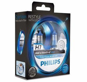 PHILIPS COLORVISION BLUE +60% H7 12V 55W ,
