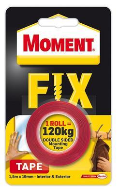 MOMENT FIX TAPE 1,5M (MAX 120KG), Moment