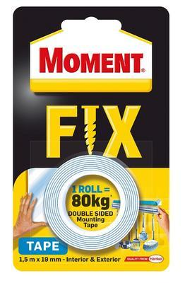 MOMENT FIX TAPE 1,5M (MAX 80KG), Moment