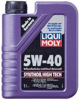 LIQUI MOLY SYNTHOIL HIGH TECH 5W40 1L, Liqui moly