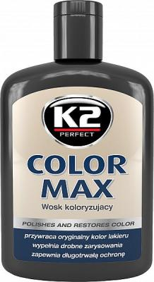 K2 COLOR MAX VÄRVIVAHA MUST 200ML, K2