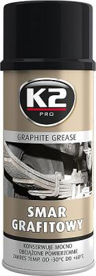 K2 GRAPHITE GREASE GRAFIITMÄÄRE 400ML, K2