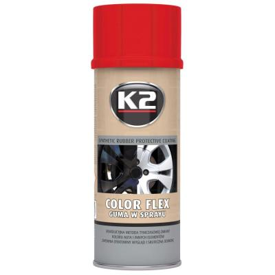 K2 COLOR FLEX PUNANE 400 ML, K2