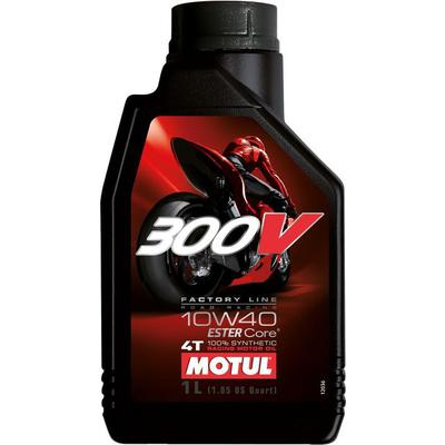 MOTUL 300V FACTORY LINE ROAD RACING 10W40 1L, Motul