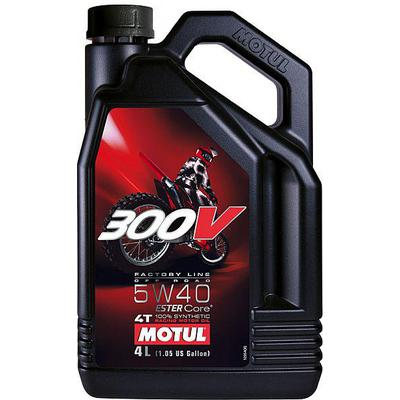 MOTUL 300V FACTORY LINE OFF ROAD RACING 5W40 4L, Motul