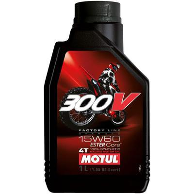 MOTUL 300V FACTORY LINE OFF ROAD RACING 15W60 1L, Motul