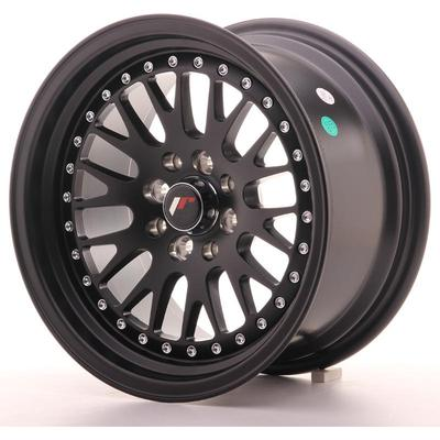 JAPAN RACING JR10 15X8 ET20 4X100/108 MATT BLACK, Japan racing wheels