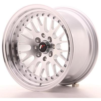 JAPAN RACING JR10 15X9 ET0 4X100/114 MACHINED SIL, Japan racing wheels