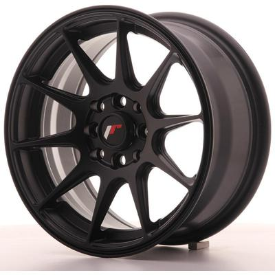 JAPAN RACING JR11 15X7 ET30 4X100/108 FLAT BLACK, Japan racing wheels