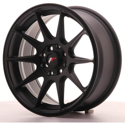 JAPAN RACING JR11 16X7 ET25 4X100/108 FLAT BLACK, Japan racing wheels