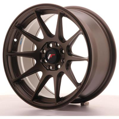 JAPAN RACING JR11 16X8 ET25 4X100/108 MATT BRONZE, Japan racing wheels