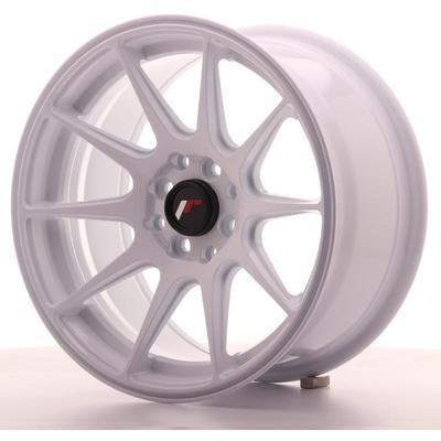 JAPAN RACING JR11 16X8 ET25 4X100/108 WHITE, Japan racing wheels
