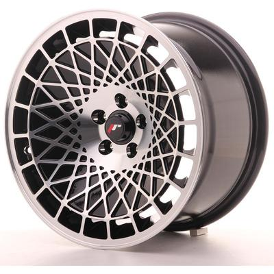 JAPAN RACING JR14 16X9 ET20 5X100 BLACK MACHINED, Japan racing wheels