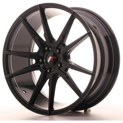 JAPAN RACING JR21 19X8,5 ET40 5X112 GLOSS BLACK, Japan racing wheels