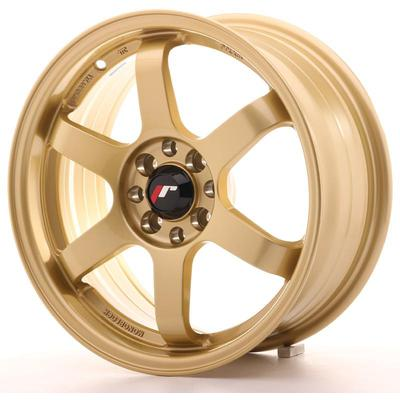 JAPAN RACING JR3 16X7 ET25 4X100/108 GOLD, Japan racing wheels