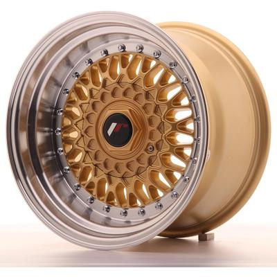 JAPAN RACING JR9 15X9 ET10 4X100/108 GOLD, Japan racing wheels