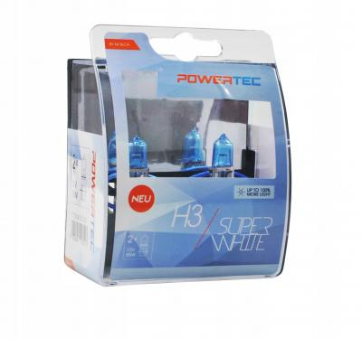 POWERTEC SUPER WHITE +100% H3 12V 55W,