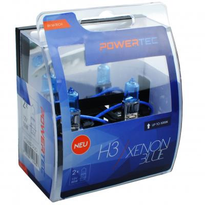 POWERTEC XENON BLUE H3 12V 55W,